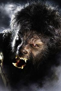 Del Toro after Rick Baker makeup magic!